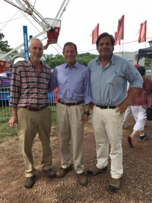 Norm Needleman, Richard Blumenthal, Phil Miller