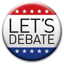 debate pin