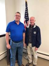 First Selectman candidate Sean Moriarty with Congressman Joe Courtney who spoke at our Chili Cook-Off giving us updates from Washington.