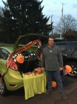 We gave out about 165 bags of candy at the Trunk or Treat and had great time meeting trick'o'treaters and their parents in Higganum Center.